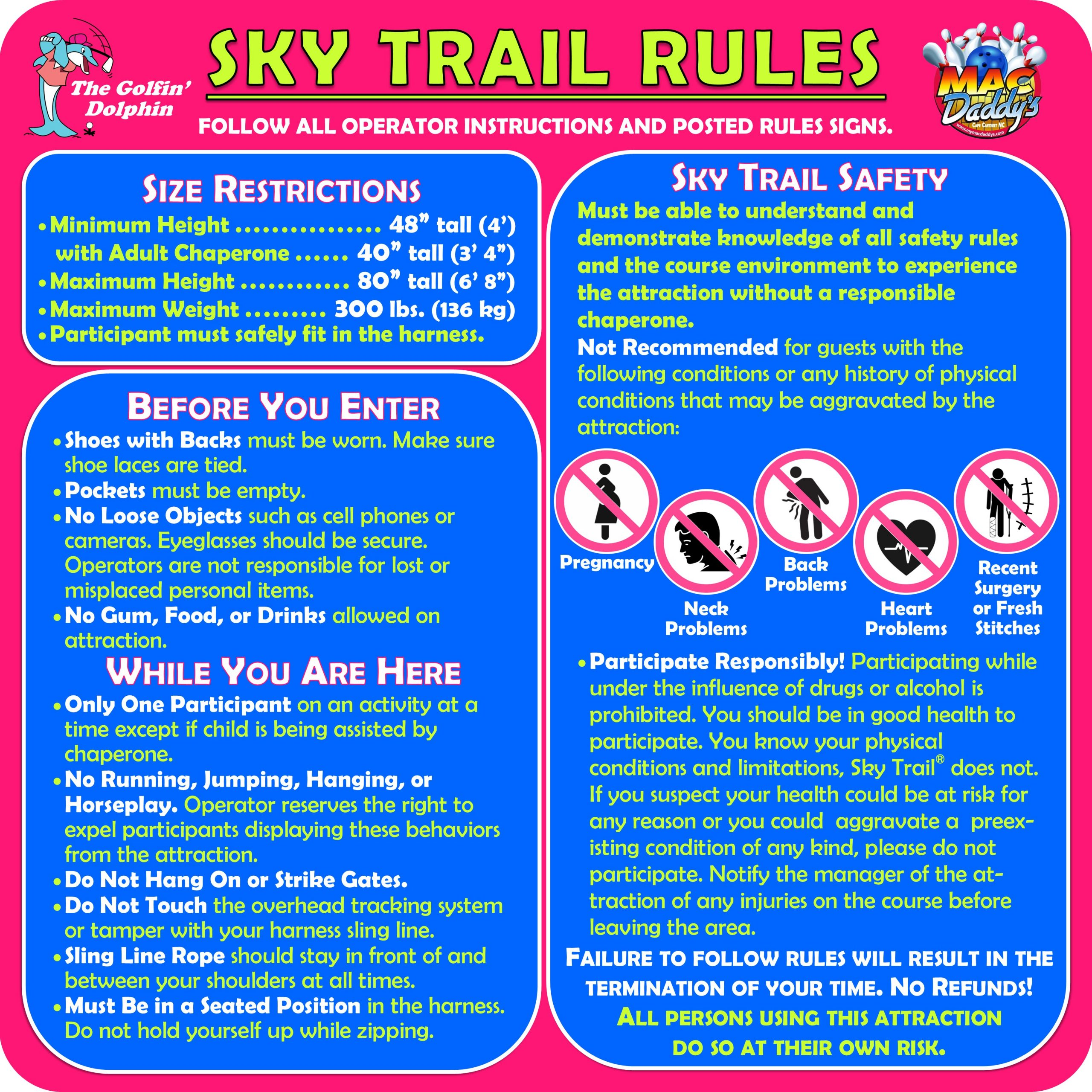 Sky Trail Rules