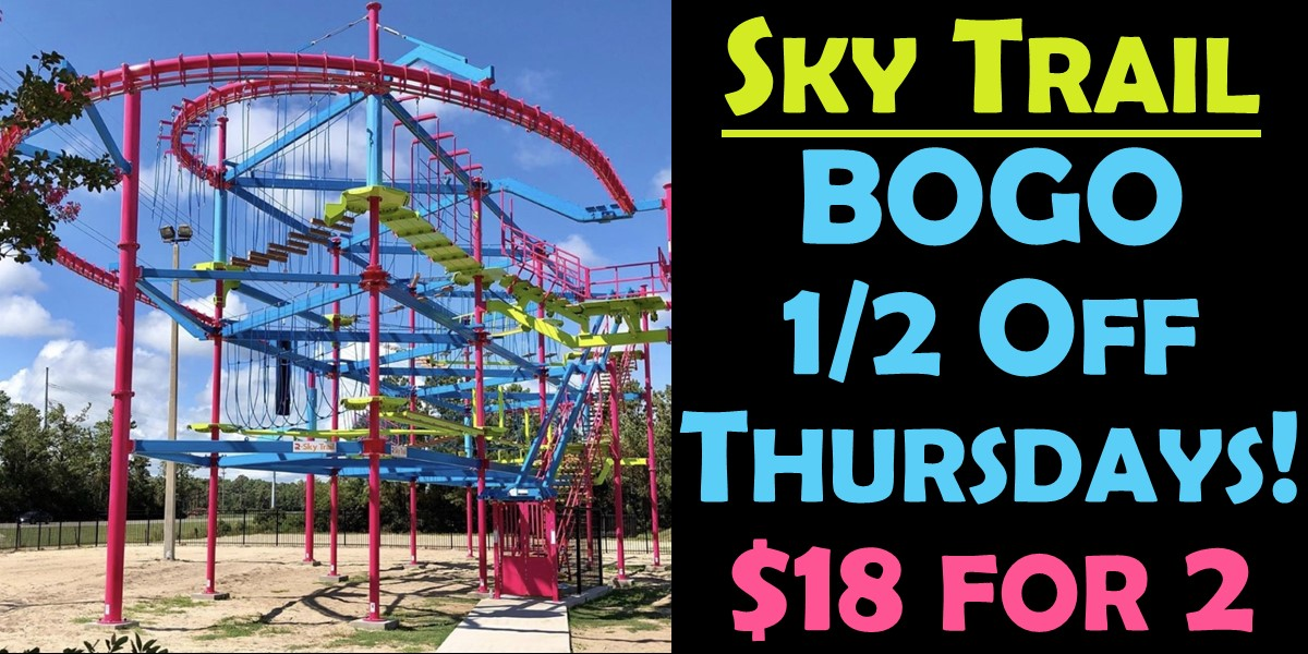 Sky Trail Thursdays BOGO