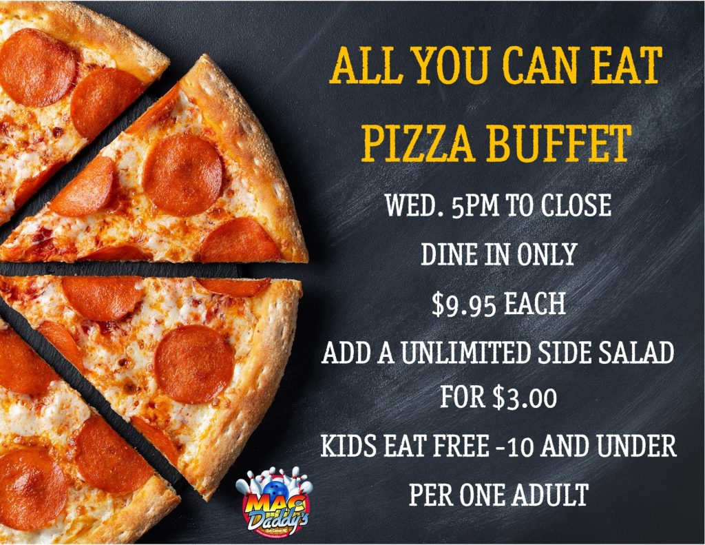 All You Can Eat Pizza Buffet