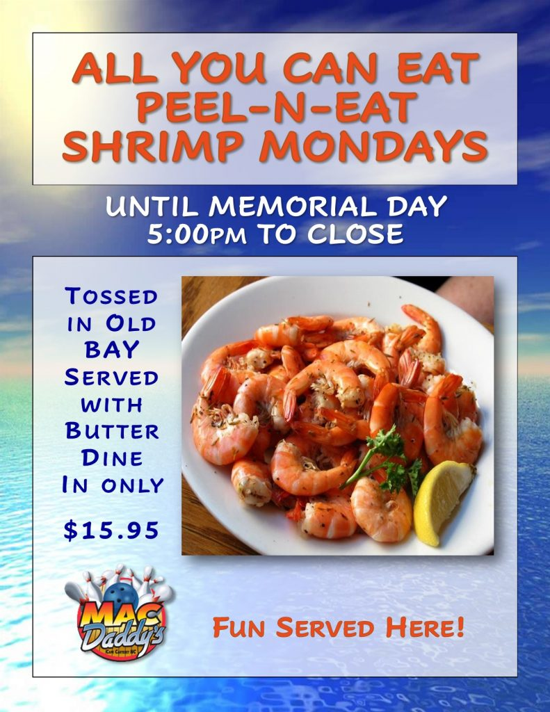 All You Can Eat Peel-N-Eat Shrimp
